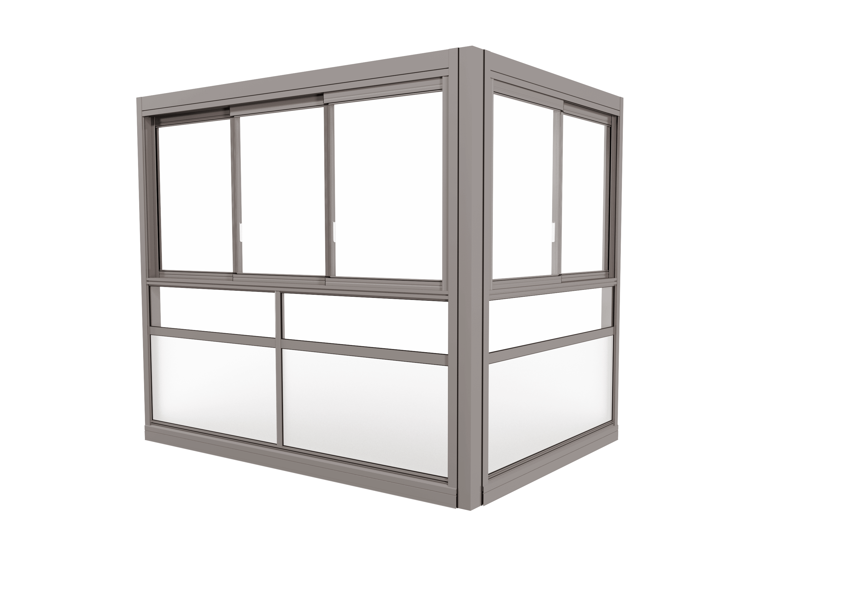 TwinView™ Sight Glasinddækningssystem - med ramme, uden håndlister